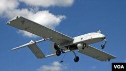 Foto de archivo de un avión espía no tripulado.