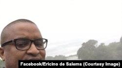 Ericino de Salema, avocat, défenseur des droits humains et commentateur très critique du gouvernement, enlevé en plein centre de Maputo, Mozambique, 29 mars 2018. (Facebook/Ericino de Salema)