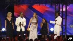 نمایی از کنسرت مراسم تحلیف باراک اوباما