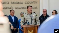 Шериф округа Санта-Барбара Билл Браун