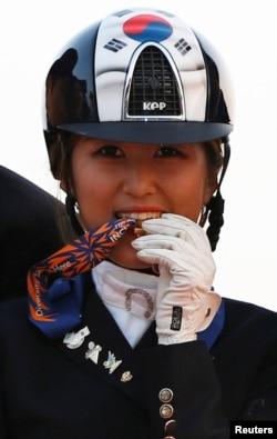 南韓前總統朴槿惠密友崔順實的女兒鄭維羅
