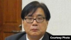 台湾关怀中国人权联盟理事长 杨宪宏