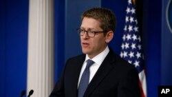 Phát ngôn viên Tòa Bạch Ốc Jay Carney nói chính phủ Hoa Kỳ đã nói rõ cho Iran rằng việc chọn ông Abutalebi là không thích đáng