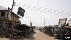 Un couvre-feu mis en place à Kafanchan, dans le nord du Nigeria, le 24 février 2017.