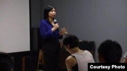 Livi Zheng, sutradara Indonesia, diundang untuk menjadi dosen tamu bagi mahasiswa jurusan sinematografi beberapa universitas di Beijing, China (foto: dok).