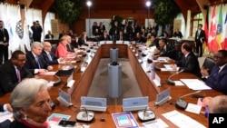 Taron kasashe G7-da shugaba Buhari ya halarta.