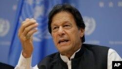임란 칸 파키스탄 총리.