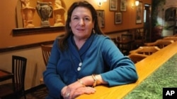 Little Italy Restaurante co-owner P.J. Gialopsos and her husband Spiro were praised for defending an autistic employee who was yelled at by an angry customer.