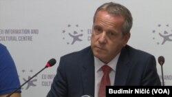 Igor Šoltes, izvestilac Evropskog parlamenta za Kosovo danas u Prištini