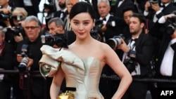 2018年5月11日中国演员范冰冰在法国南部的戛纳电影节参加电影《江湖儿女》(Ash is Purest White)放映会。