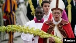 Papa Franja na nedeljnoj misi