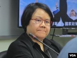 台湾前行政院政务委员蔡玉玲