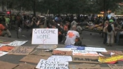 'Occupy Wall Street' Protesters in NYC Decry Corruption, Greed