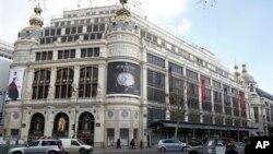 Robna kuća u Parizu u kojoj je izvršena pljačka