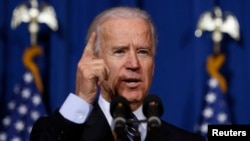U.S. Vice President Joseph Biden. (March 7, 2013 file photo)