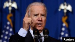 U.S. Vice President Joseph Biden. (March 7, 2013 file photo)
