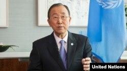 Ban Ki-moon, secrétaire général des Nations unies.
