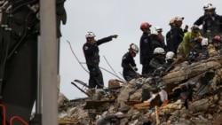 搜救人員從佛州大樓廢墟中又找出兩具遺體