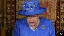 Промова королеви зазвичай називає очікувані державні візити, але згадки про приїзд президента Трампа цього разу не було