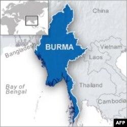 缅甸的地理位置