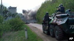 Rossiya va Ukraina qo'shinlari umumiy chegaraga yaqinlashmoqda.