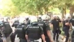 Neredi tokom prve Parade ponosa u Crnoj Gori