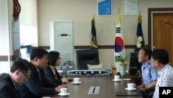 韩国警方曾向中国领事官员表达对非法捕鱼的关切