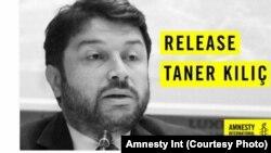 سازمان عفو بین المللی خواهان رهایی آقای تنر کیلچ شده است