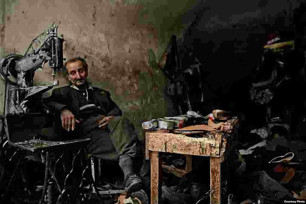 5th Place  Hisham Sarsour, Palestinian Territories 'The Shoe Maker'