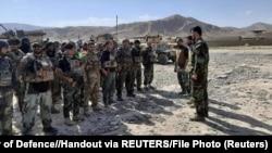 ARHIVA - Avganistanski komandosi raspoređeni u gradu Faizabadu prestonici provincije Badakšan (Foto: Reuters/Afghanistan Ministry of Defence)