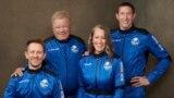 Chris Boshuizen, William Shatner, Audrey Powers và Glen de Vries.