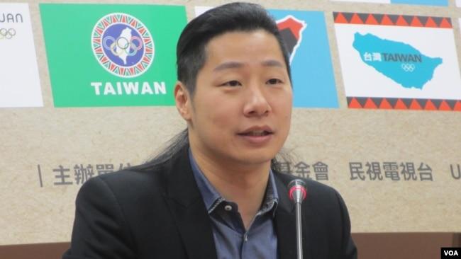 台湾在野党时代力量立委林昶佐(美国之音张永泰拍摄)