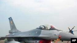 台灣目前擁有的F-16戰鬥機(資料照片)