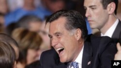 ရီပက္ဘလီကန္ သမၼတေလာင္းေနရာ Mitt Romney အေျခအေနေကာင္း