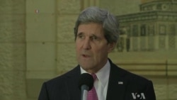 Kerry Cites Some Progress in Mideast Peace Talks