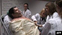 Манекены очень точно воспроизводят симптомы и физиологические процессы, происходящие в организме человека