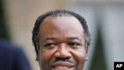 Gabonese President Ali Bongo Ondimba (2009 file photo)
