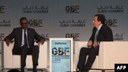 Hamad Buamim, directeur de la Chambre de commerce et d'industrie de Dubaï (DCCI) à Dubai, le 1er novembre 2017.
