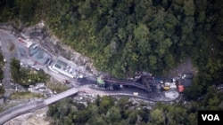 Tambang batubara Sungai Pike di Selandia Baru, lokasi terjadinya ledakan yang membuat 29 pekerja terperangkap.