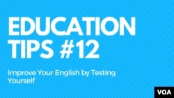 Education Tips #12