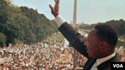 سخنرانی تاریخی داکتر کینگ در شهر واشنگتن دی سی، سال ۱۹۶۳