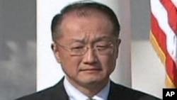 Le Dr. Jim Yong Kim, président de la Banque mondiale, qui vient d'annoncer la création d'un nouveau fonds pour aider l'Afrique