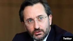 Direktur Komunikasi Kepresidenan Turki, Fahrettin Altun. (Foto: dok).