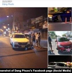 Facebooker Đặng Phước đăng ảnh 4 xe VinFast gặp sự cố; 22/2/2021