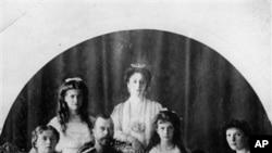 俄羅斯前沙皇全家合照