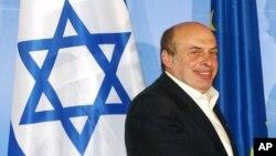 Nathan Sharansky, président de l'Agence juive, important organisme para-gouvernemental israélien, 29 avril 2004.
