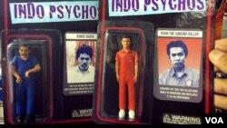KPAI menemukan, mainan anak-anak berupa tokoh pedofil, seperti Robot Gedek dan Ryan, yang merupakan terpidana kasus pedofil dan pembunuhan beredar di Indonesia (VOA/Fathiyah).