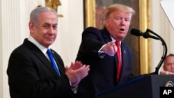 سخنرانی روز سه شنبه پرزیدنت ترامپ در کاخ سفید