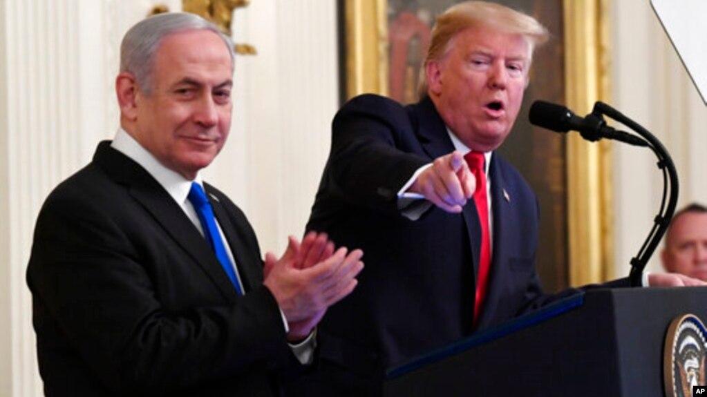 Дональд Трамп и Биньямин Нетаньяху