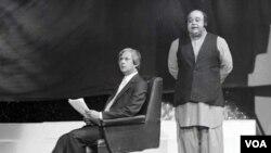کمال احمد رضوی اور رفیع خاور ننھا کی یادگار تصویر